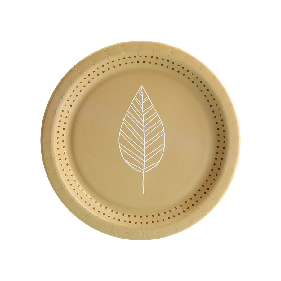 View larger image of Nature's Path Leaf Dessert Plate (8)
