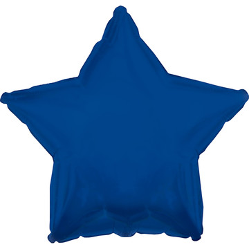 Navy Blue Star Foil Balloon