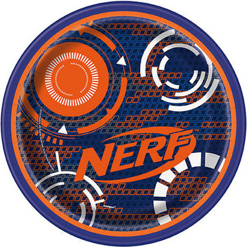 "Nerf 7"" Plate (8)"