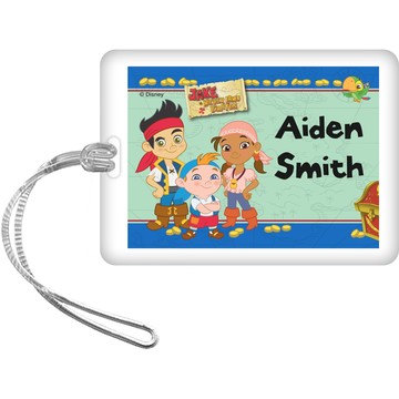 Never Land Pirates Personalized Bag Tag (Each)