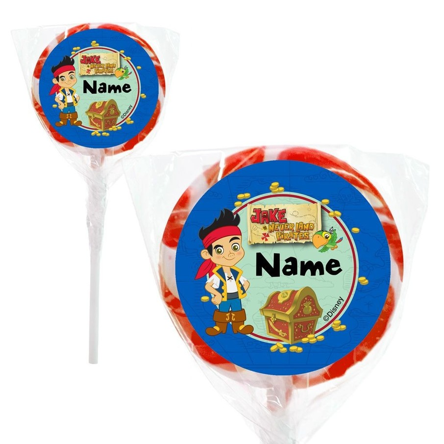 "View larger image of Neverland Pirates Personalized 2"" Lollipops (20 Pack)"