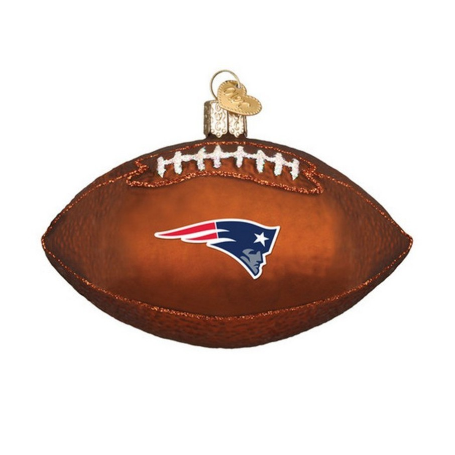 View larger image of New England Patriots Football Ornament