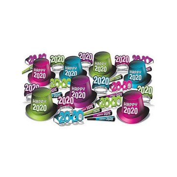 "New Year ""2020"" Assorted Party Kit for 50"