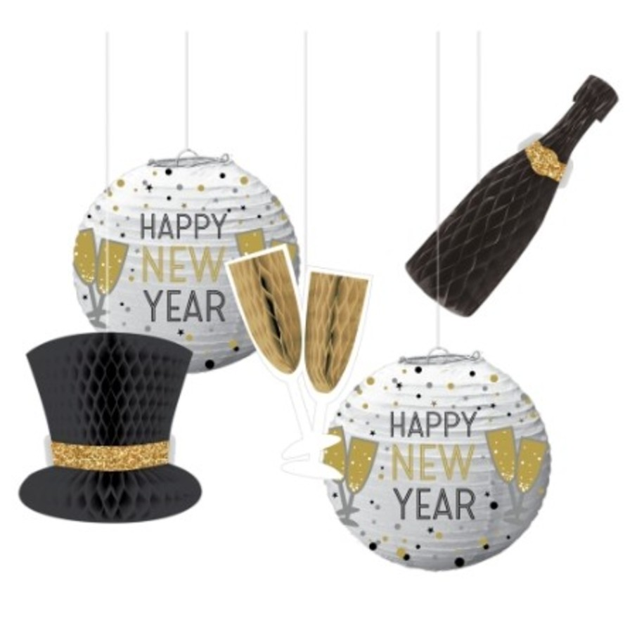 View larger image of New Year's Hanging Decorations (5)
