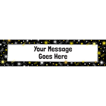 New Years Personalized Banner (Each)