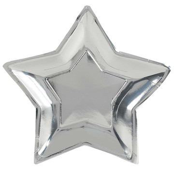 New Year's Star Shaped Plates (10)