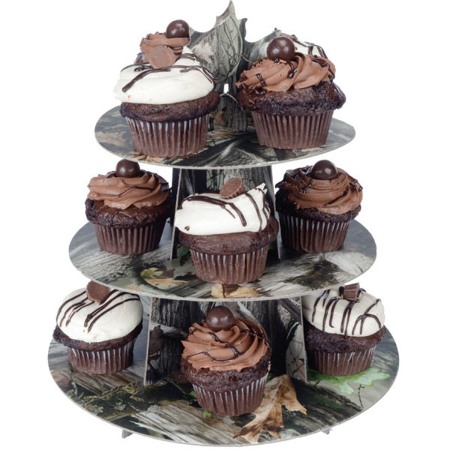View larger image of Next Camo Cupcake Treat Stand (1)
