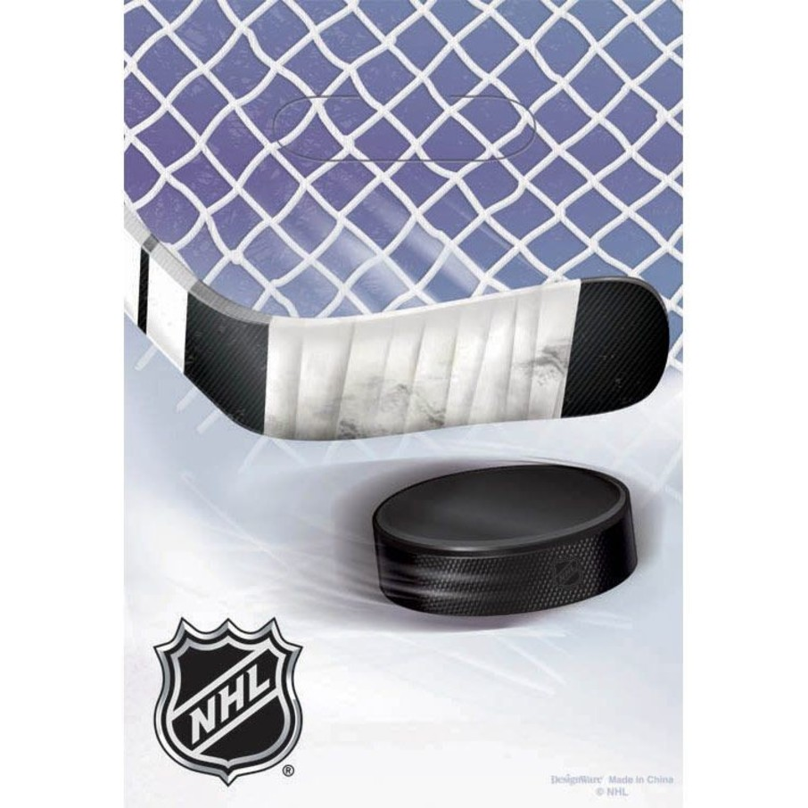 View larger image of NHL Hockey Party Favor Bags (6 Pack)