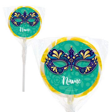 """Night In Disguise Personalized 2"""" Lollipops (20 Pack)"""