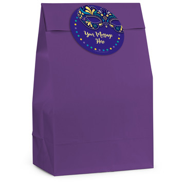 Night In Disguise Personalized Favor Bag (12 Pack)