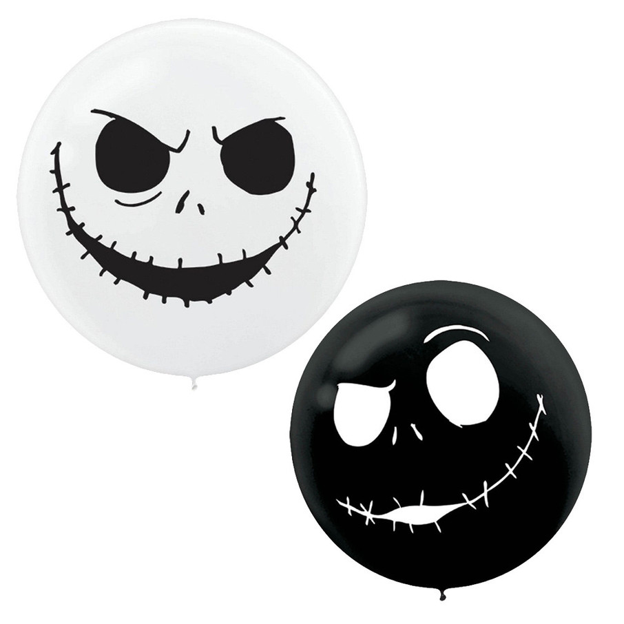 "View larger image of Nightmare Before Christmas Giant 24"" Latex Balloons (2ct)"