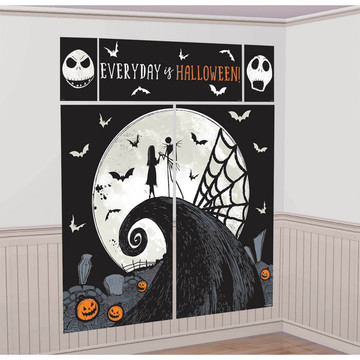 Nightmare Before Christmas Scene Setter With Photo Props
