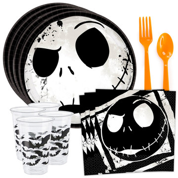Nightmare Before Christmas Standard Tableware Kit (Serves 8)