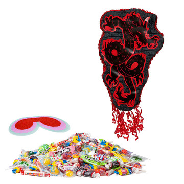 Ninja Warrior Party Pinata Kit