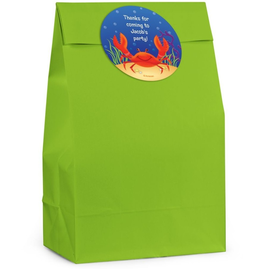 View larger image of Ocean Friends Personalized Favor Bag (Set Of 12)