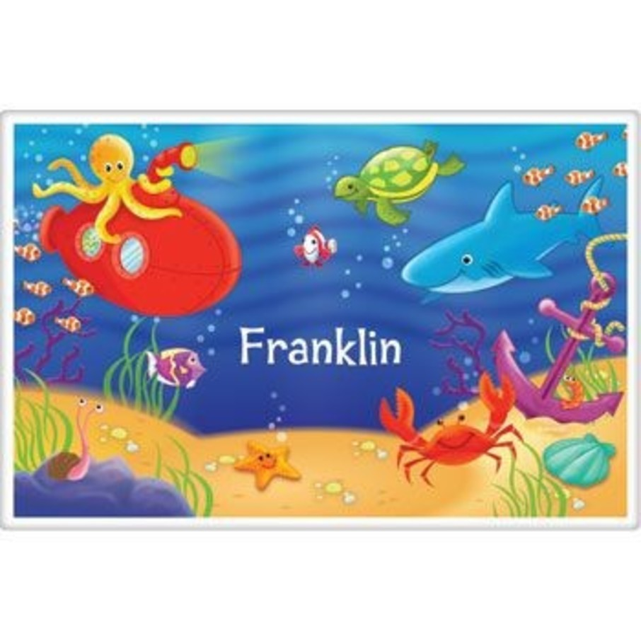 View larger image of Ocean Friends Personalized Placemat (each)