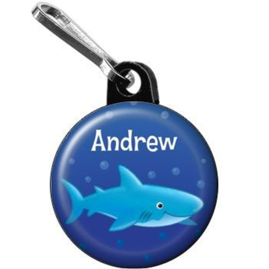 View larger image of Ocean Friends - Shark Personalized Mini Zipper Pull (each)