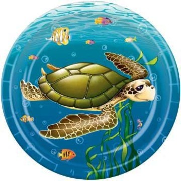 Ocean Party Cake Plates (8-pack)