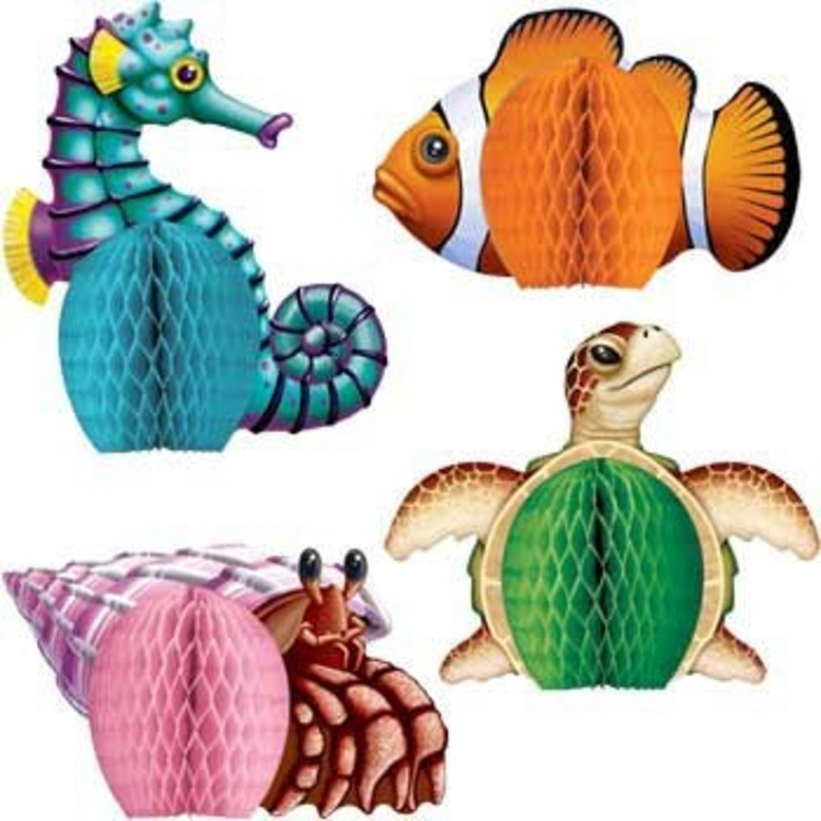 View larger image of Ocean Party Centerpiece (set of 4)