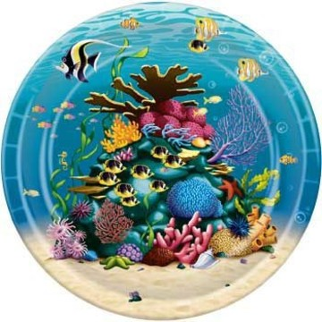 Ocean Party Dinner Plates (8-pack)