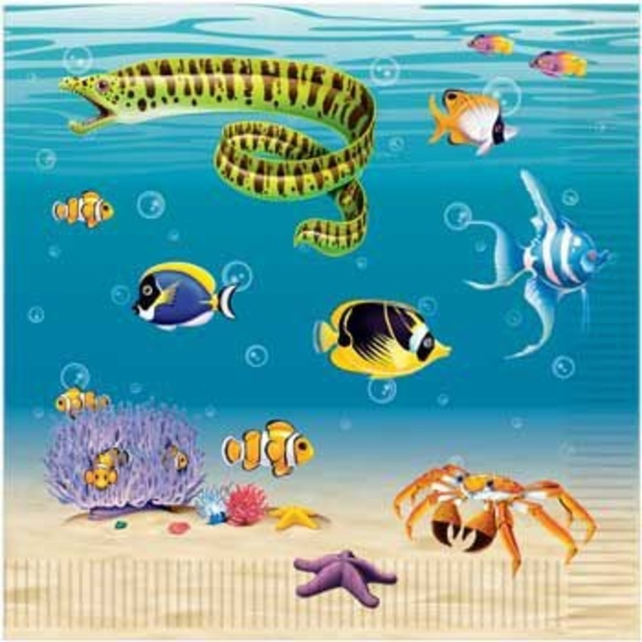 View larger image of Ocean Party Napkins (16-pack)