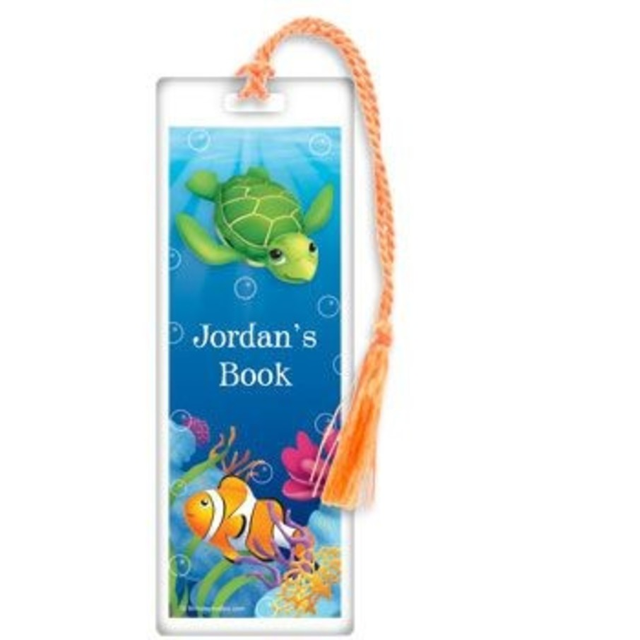 View larger image of Ocean Party Personalized Bookmark (each)