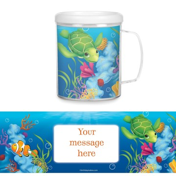 Ocean Party Personalized Favor Mugs (Each)