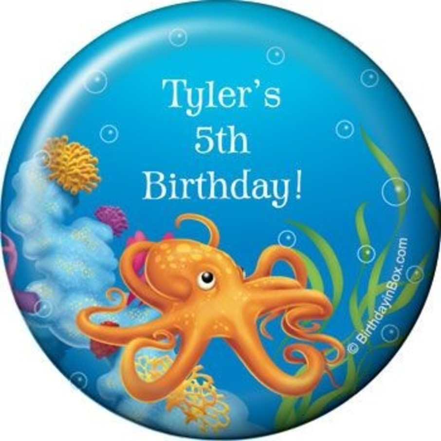 View larger image of Ocean Party Personalized Magnet (each)