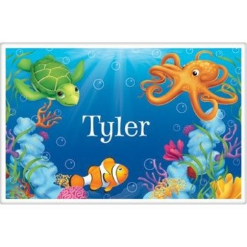 Ocean Party Personalized Placemat (each)
