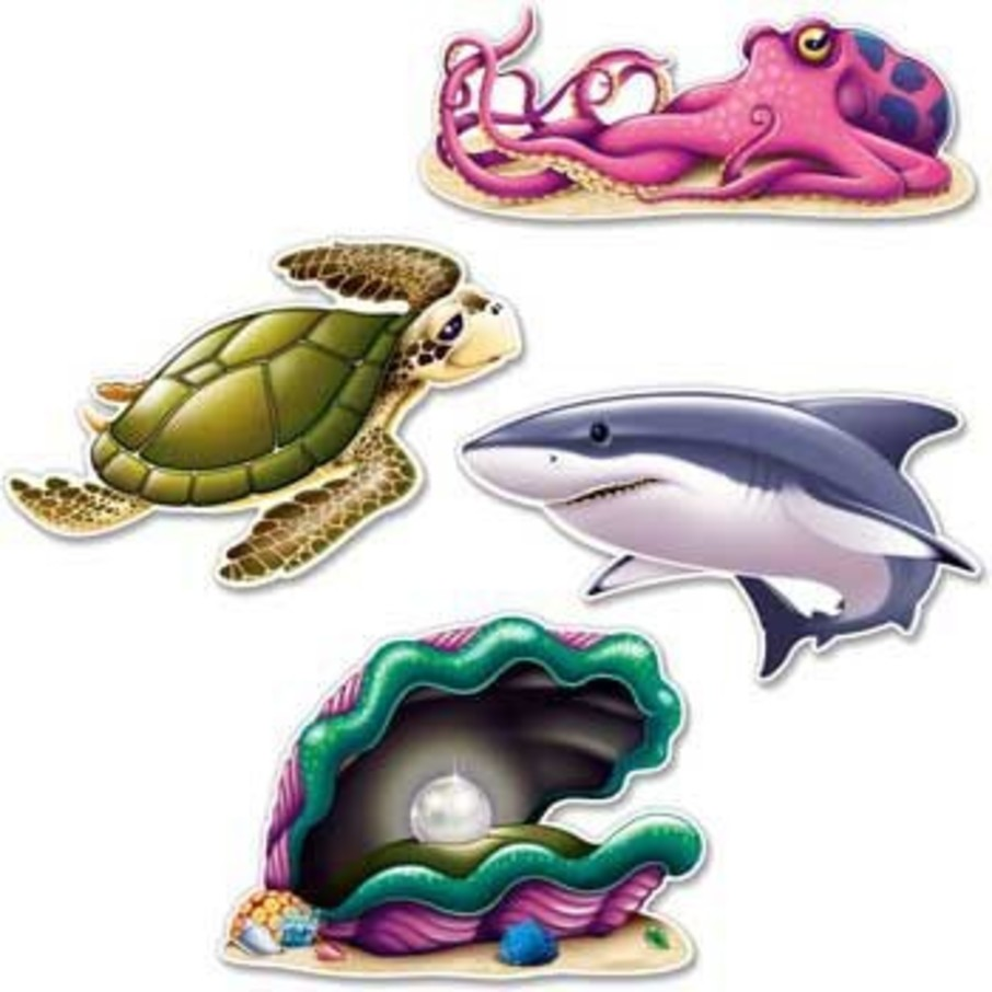 View larger image of Ocean Party Wall Decoration (set of 4)