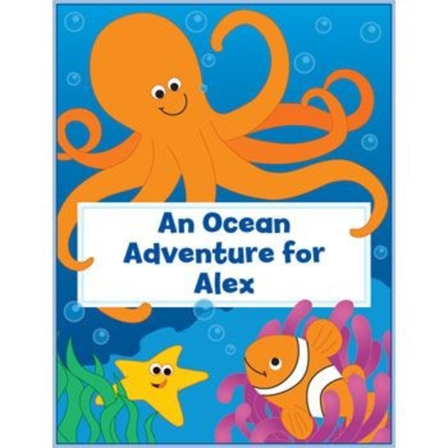 View larger image of Ocean Personalized Coloring Book (each)