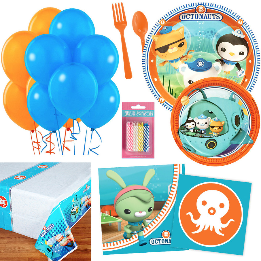 View larger image of Octonauts Party Essentials Kit, Serves 16