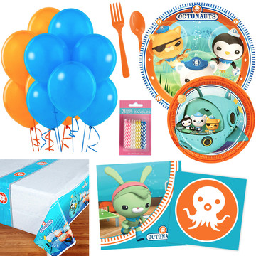 Octonauts Party Essentials Kit, Serves 16