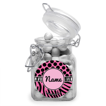 Oh So Fabulous Personalized Glass Apothecary Jars (12 Count)