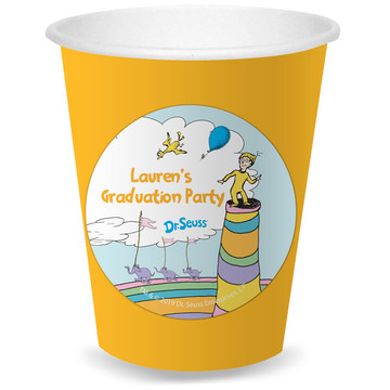 Oh The Places You'll Go Personalized Cups, 8ct