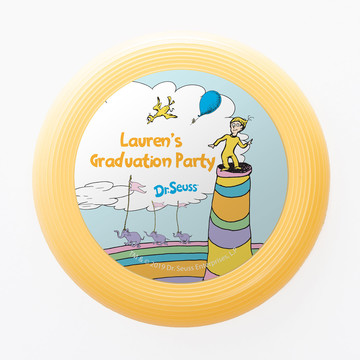 Oh The Places You'll Go Personalized Mini Discs (Set of 12)