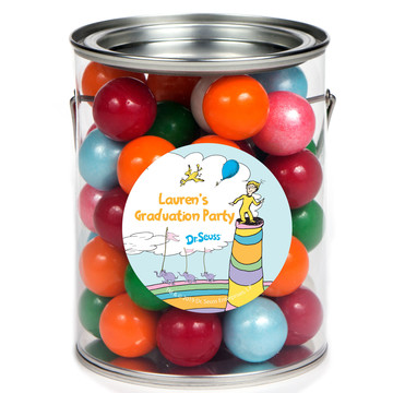 Oh The Places You'll Go Personalized Paint Cans, 6ct