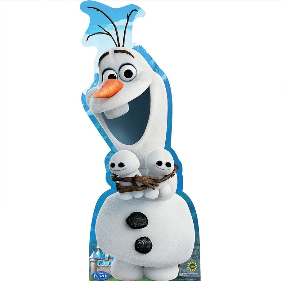 View larger image of Olaf Hugging Snowgies Standup