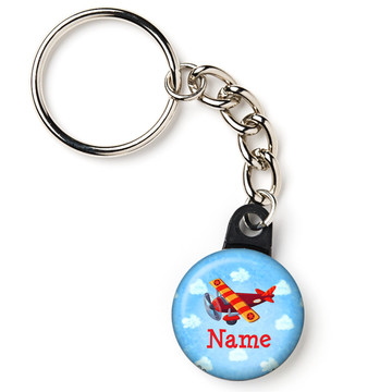 """On the Go Personalized 1"""" Mini Key Chain (Each)"""