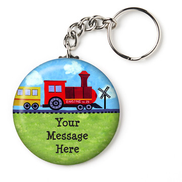 "On the Go Personalized 2.25"" Key Chain (Each)"