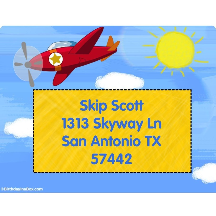 View larger image of On the Go Personalized Address Labels (Sheet of 15)