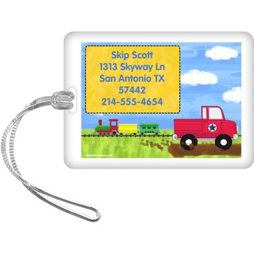 On the Go Personalized Luggage Tag (Each)