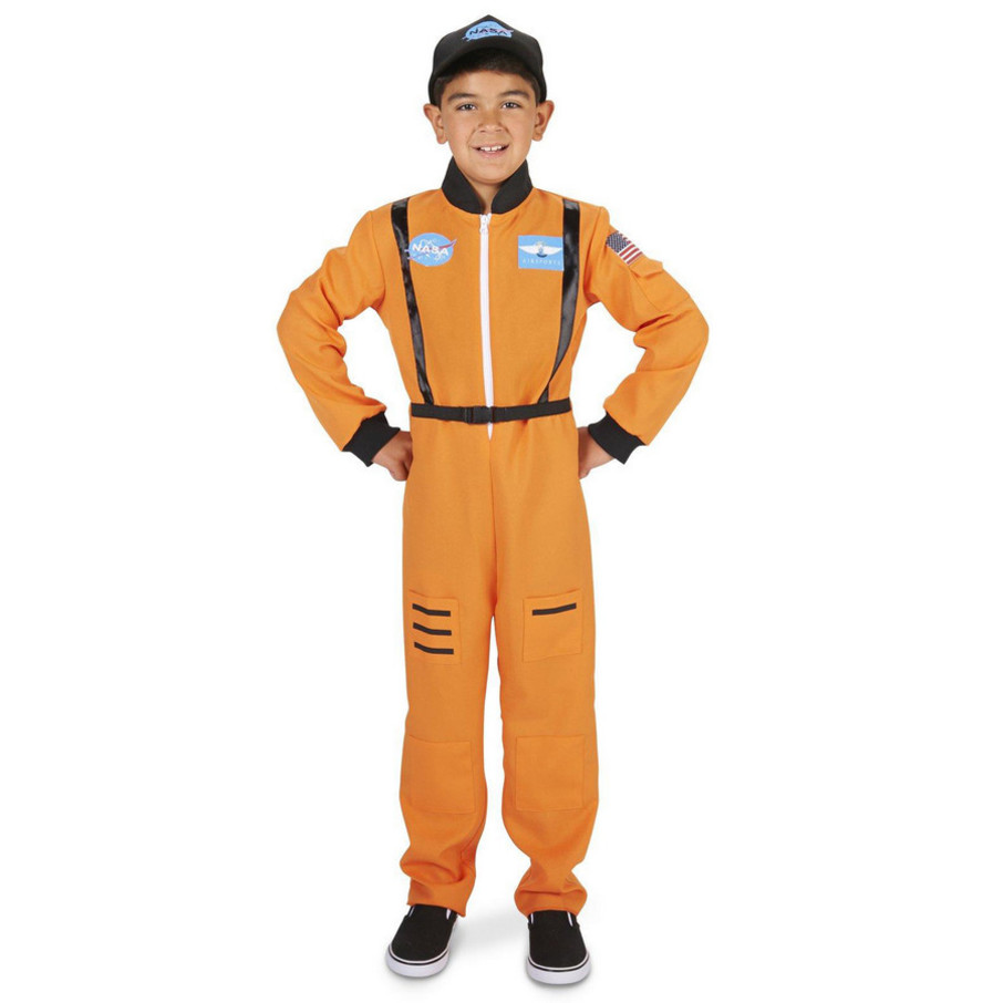 View larger image of Orange Astronaut Child Costume
