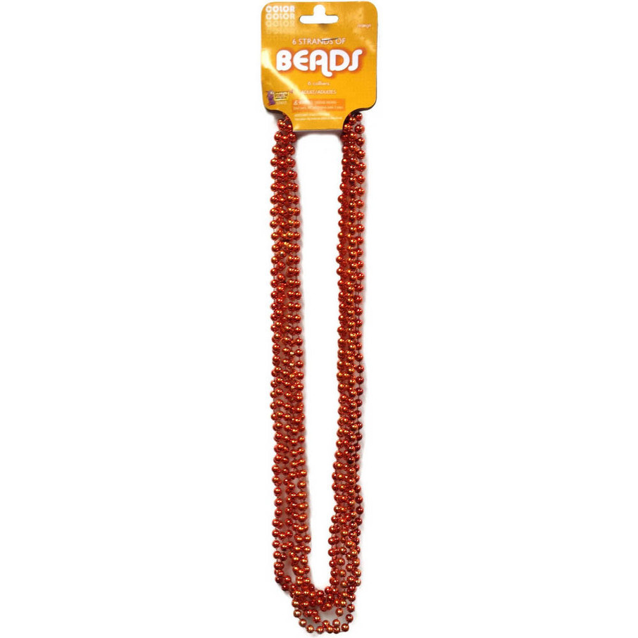View larger image of Orange Bead Necklace