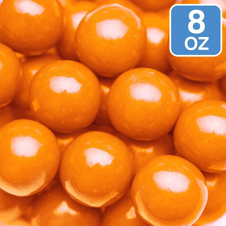 View larger image of Orange Gumballs 8oz (Each)
