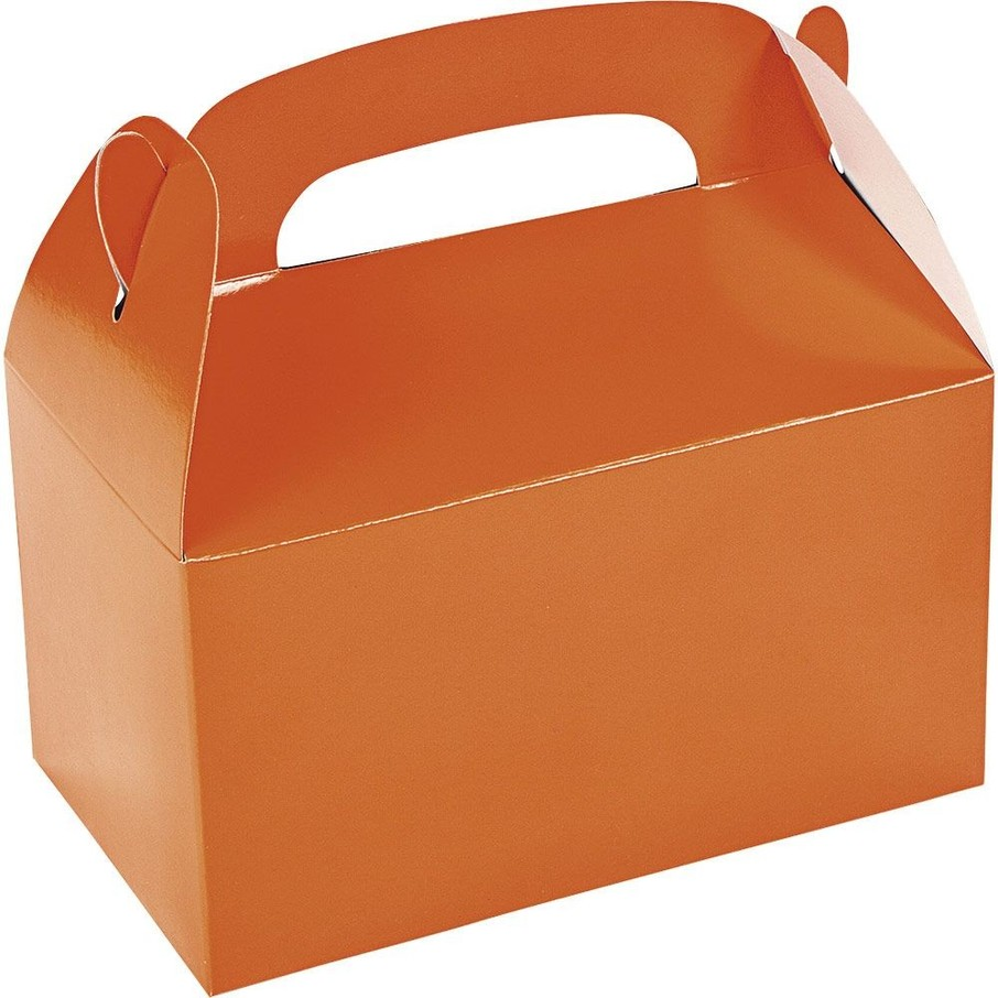 View larger image of Orange Treat Favor Boxes (12 Pack)