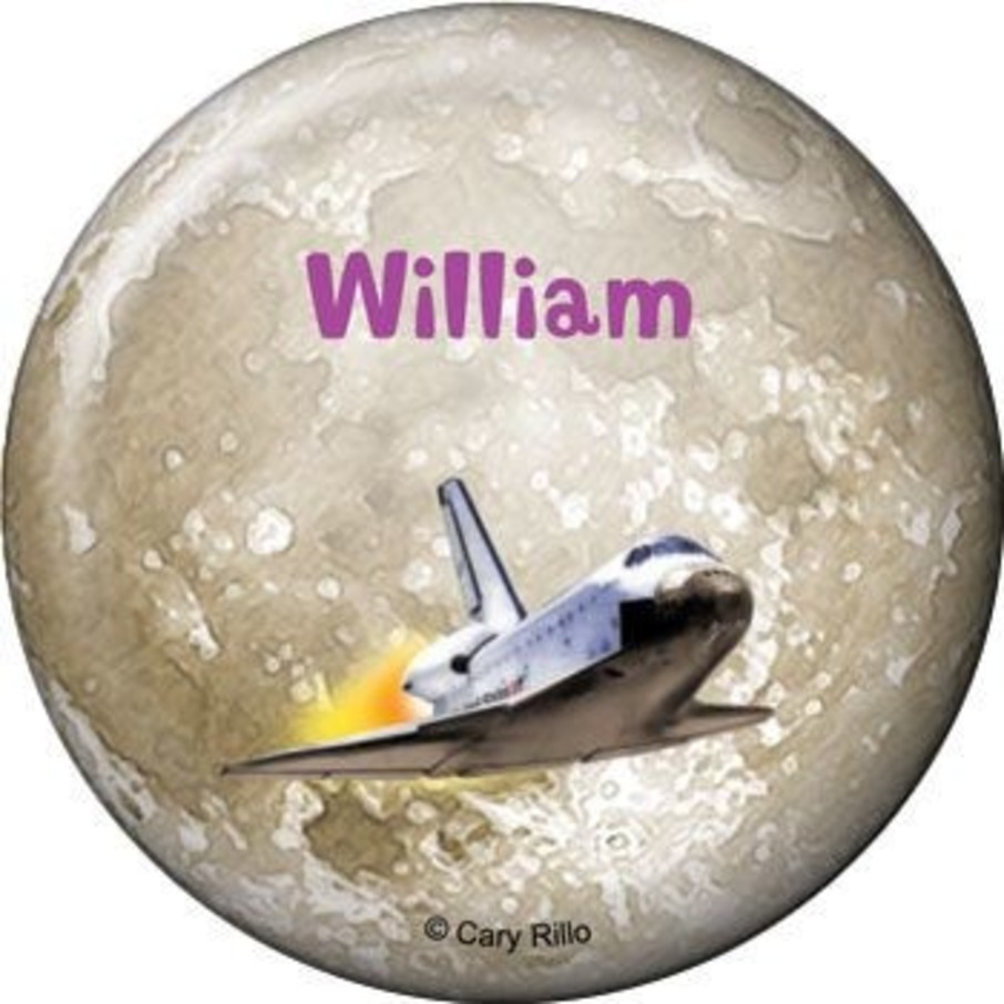View larger image of Outer Space Personalized Button (each)