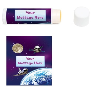 Outer Space Personalized Lip Balm (12 Pack)