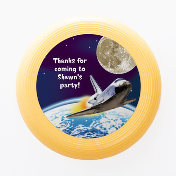 Outer Space Personalized Mini Discs (Set of 12)