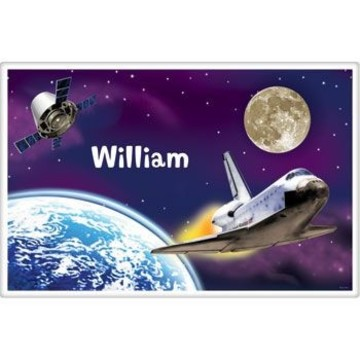 Outer Space Personalized Placemat (each)